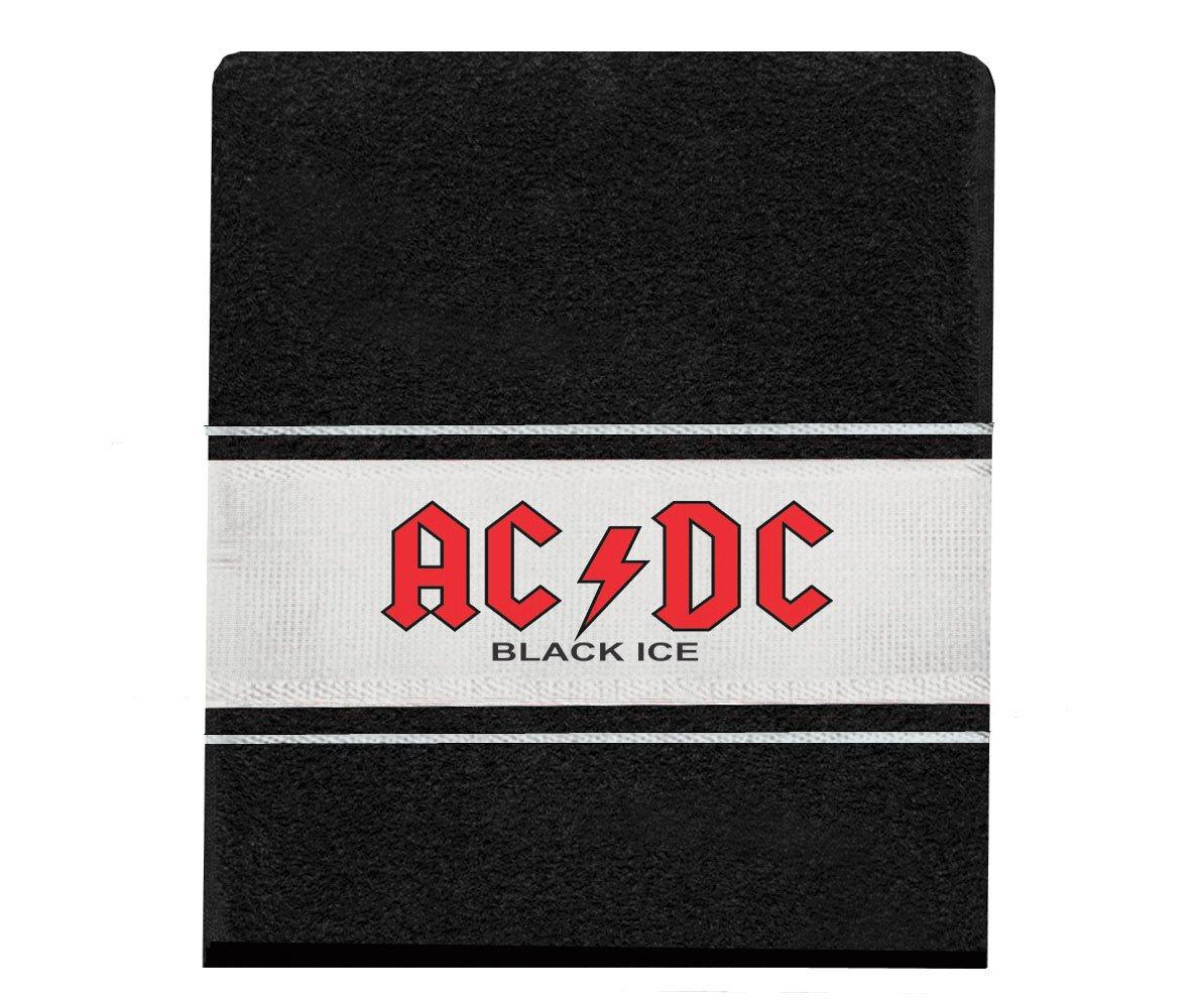 Toalha AC/DC Black Ice rosto