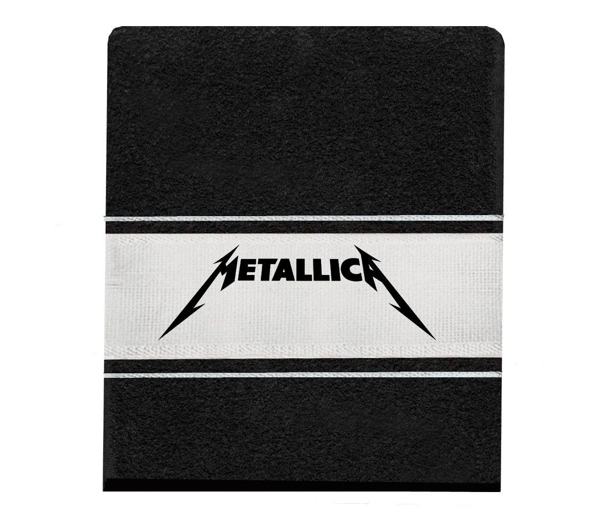 Toalha Metallica banho