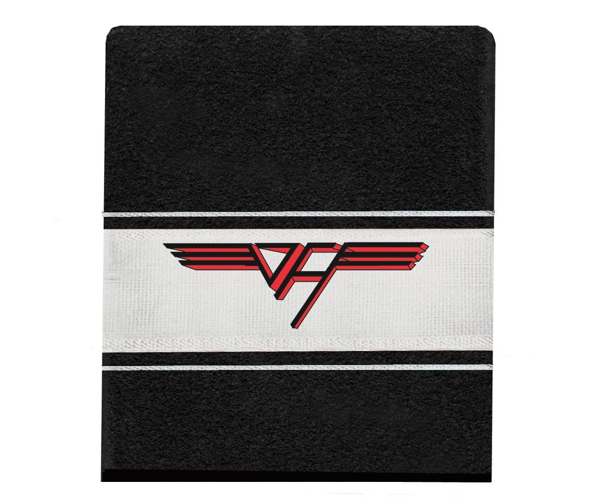 Toalha Van Halen mão