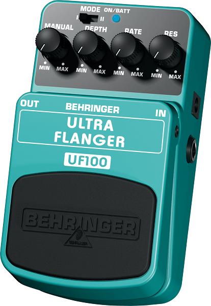 Pedal para Guitarra Baixo Teclado Behringer UF-100 Ultra Flanger