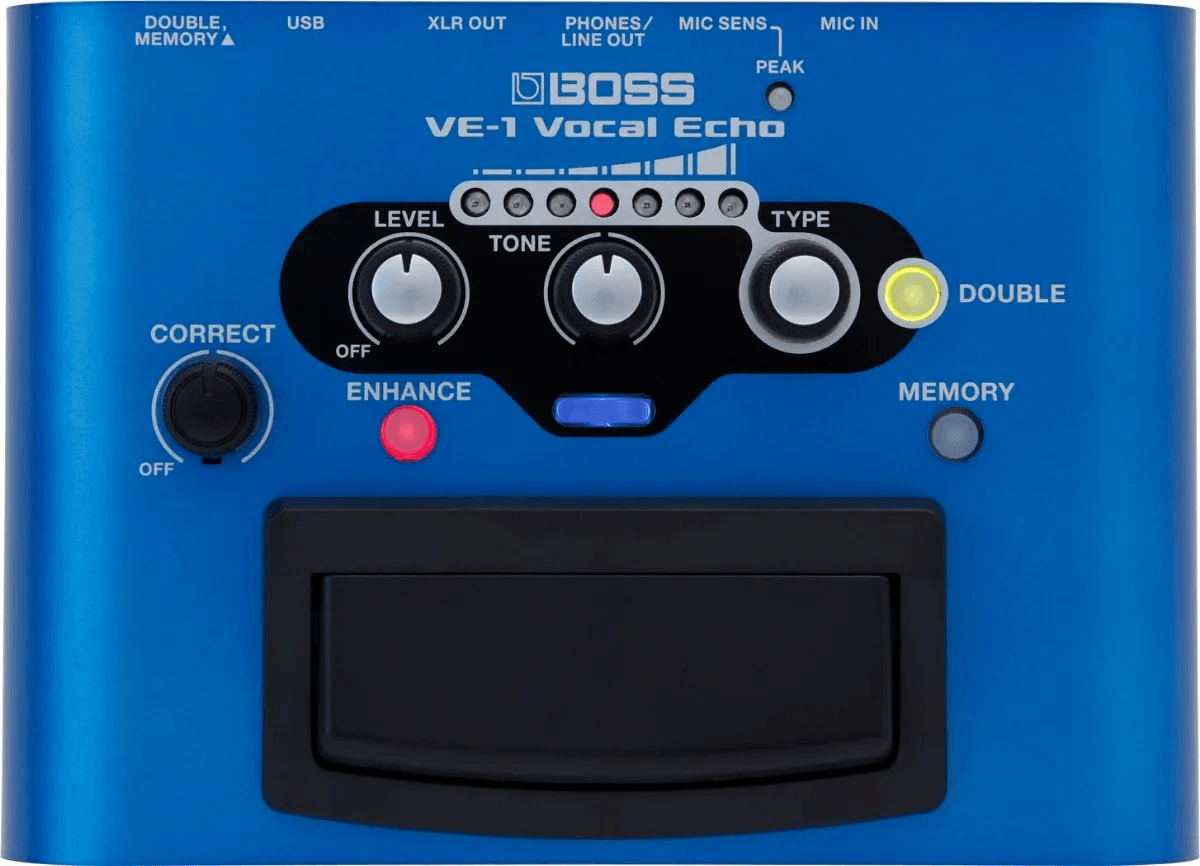 Pedal de voz Boss VE-1 Vocal Echo