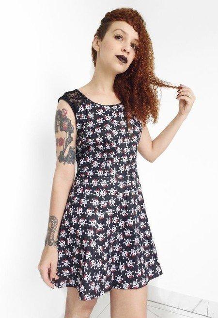 Vestido Pity Skull - Psicose Store