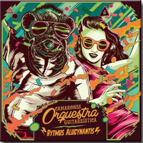 LP Vinil Camarones Orquestra Guitarrística - Rytmus Alucynantis