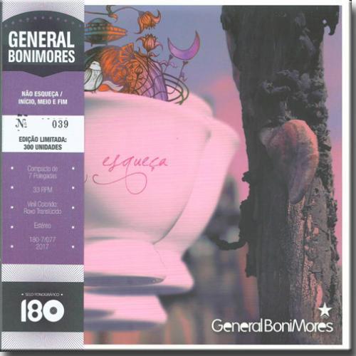 LP Vinil General Bonimores - Esqueça