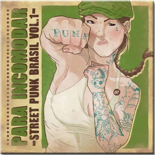 LP Vinil Para Incomodar - Street Punk Brasil Vol 1 - Diversos Nacionais