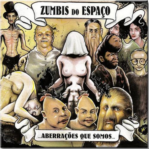 LP Vinil Zumbis do Espaço - Aberrações Que Somos