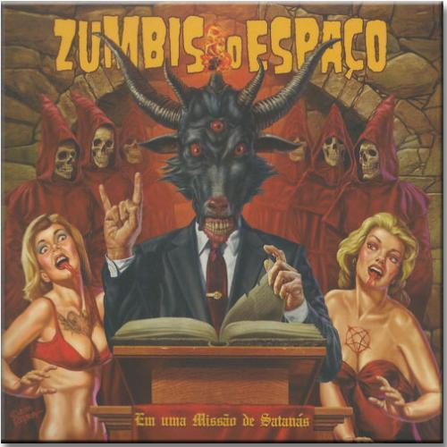 LP Vinil Zumbis do Espaço - em Uma Missão de Satanás