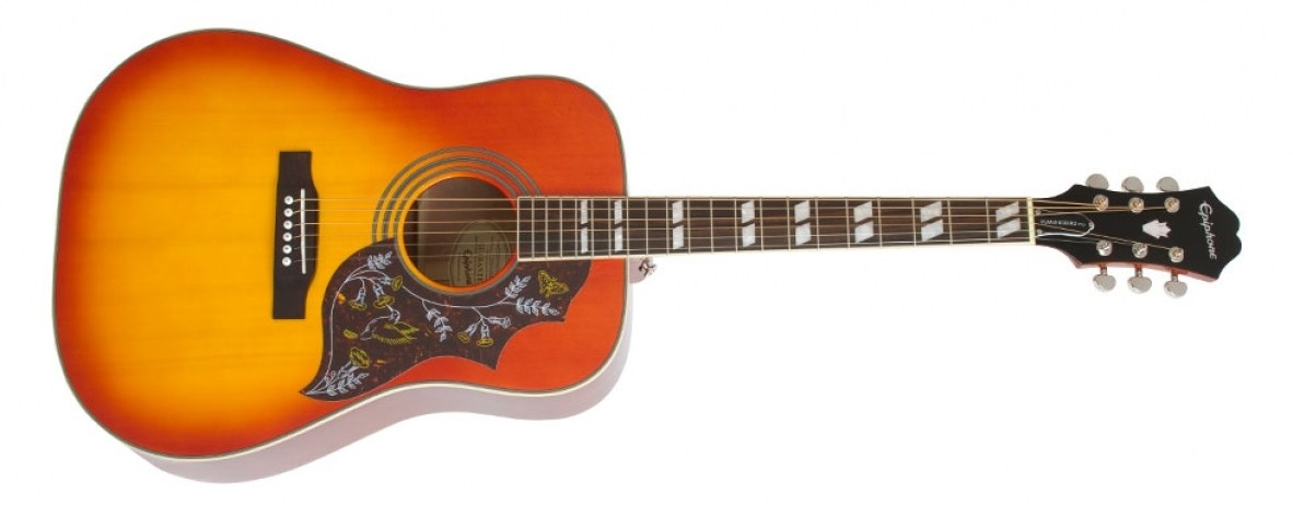 Violão Epiphone Hummingbird PRO Faded Cherry