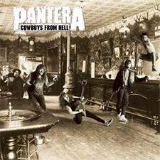 Pantera Cowboys From Hell Album