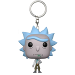 Funko Pop! Keychain Rick & Morty Rick Collectible Vinyl Keychain Figure