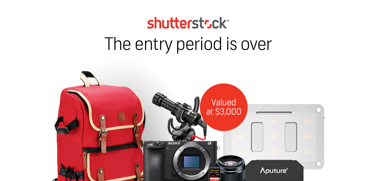 Shutterstock | Enter to win a SONY A6500 4K camera bundle*