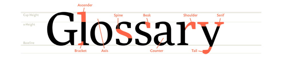 9 Typography Sites to Help You Find The Right Font: Glossary