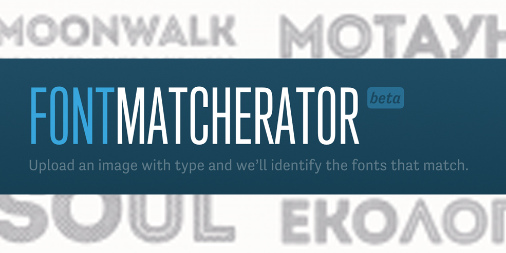 9 Typography Sites to Help You Find The Right Font: Match