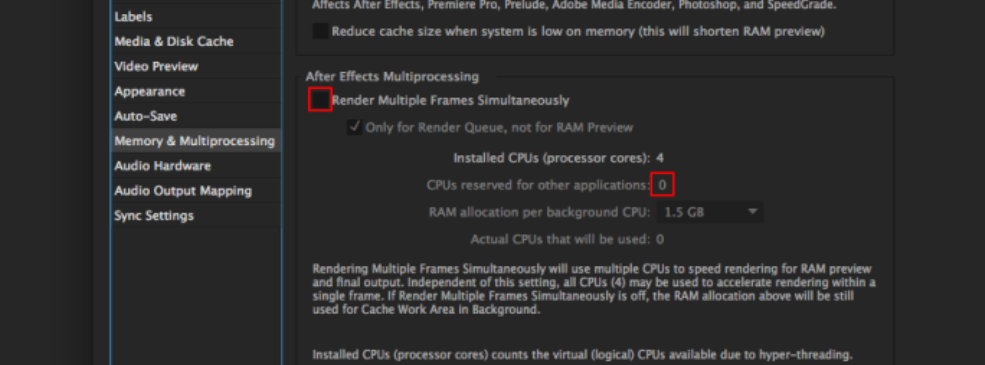 After effects Errors and How to Fix Them: Multiprocessing Dropdown 2
