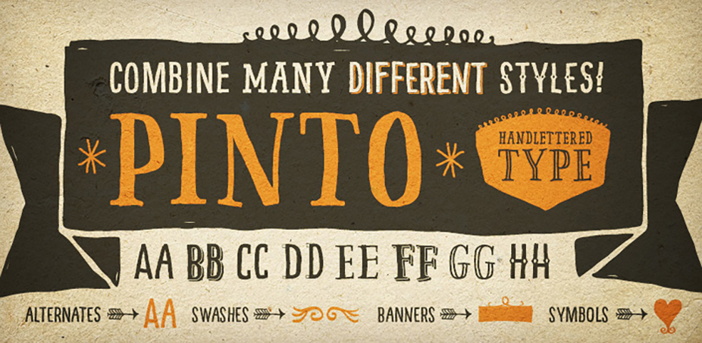 9 Typography Sites to Help You Find The Right Font: pinto