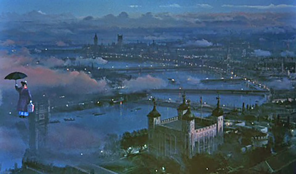 Visual effects how matte paintings are composited into film for Matte painting
