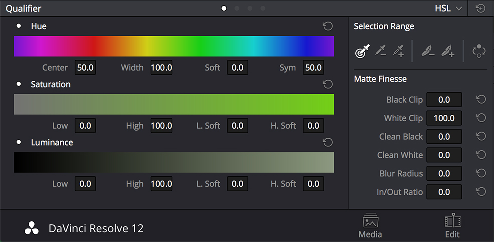 color correct mismatched footage: match saturation