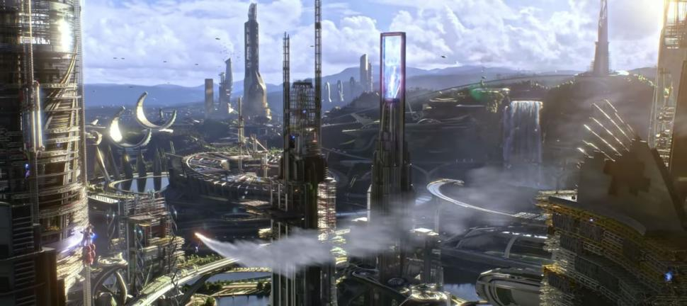 CGI: Tomorrowland