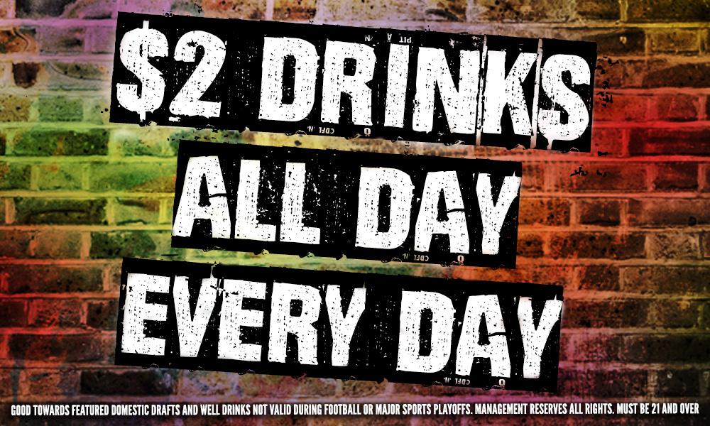 $2 Drinks