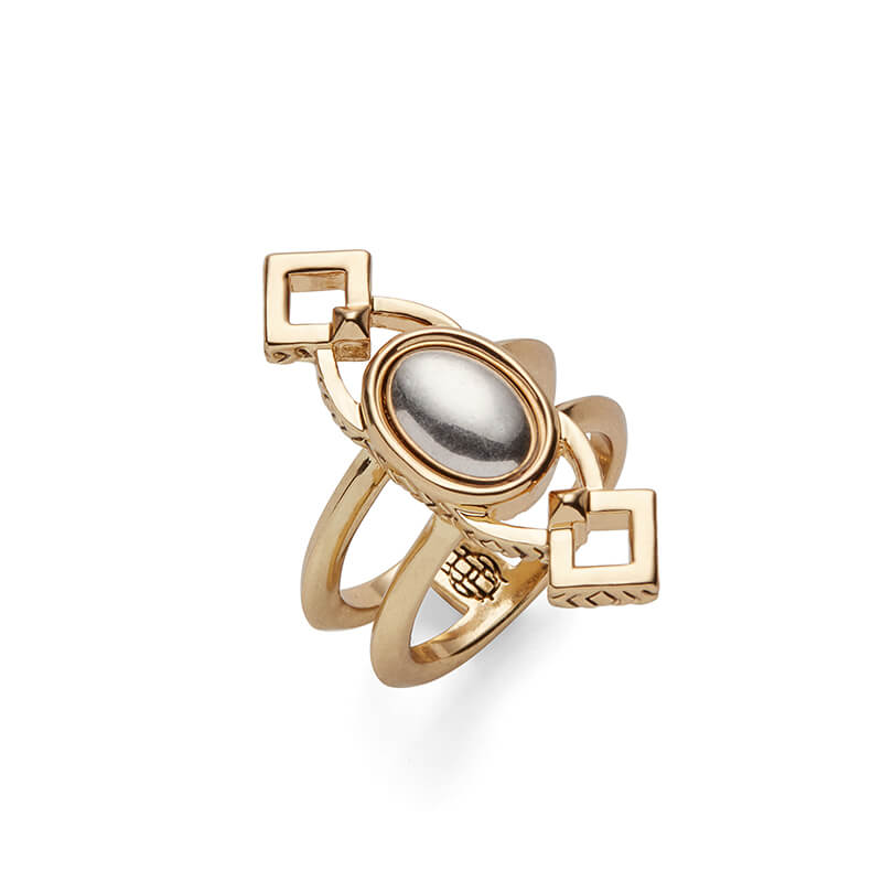 Lady of Grace Ring in Gold and Silver