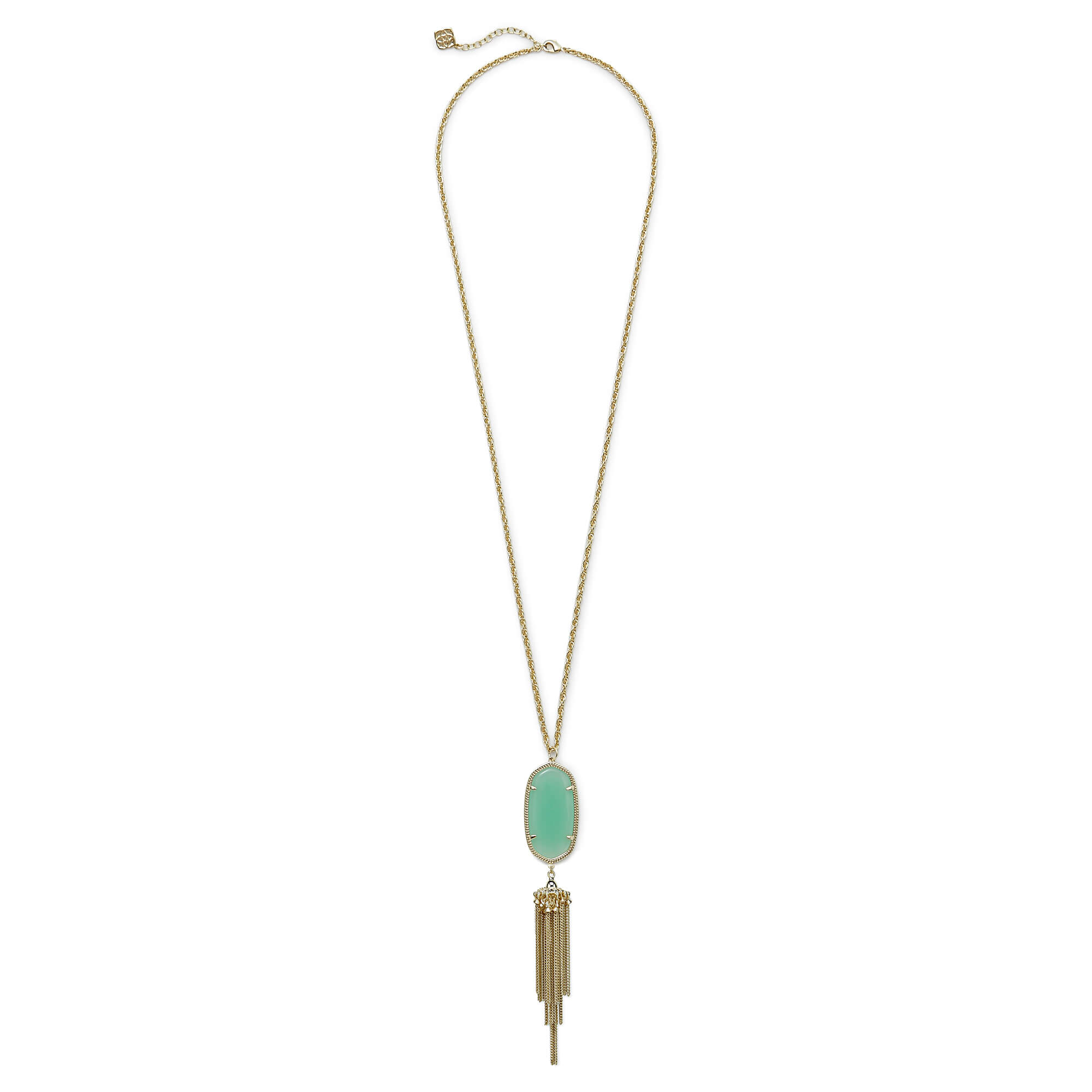 Rayne Necklace in Chalcedony