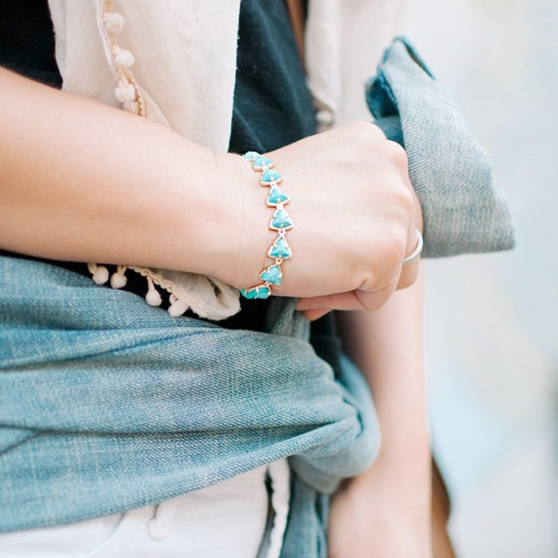 User Generated Content for Kendra Scott Ripley Bracelet in Turquoise Magnesite