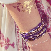 User Generated Content for Nakamol Layered Chain Wrap Bracelet in Navy