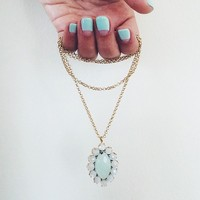 User Generated Content for Margaret Elizabeth Marquis Petal Necklace
