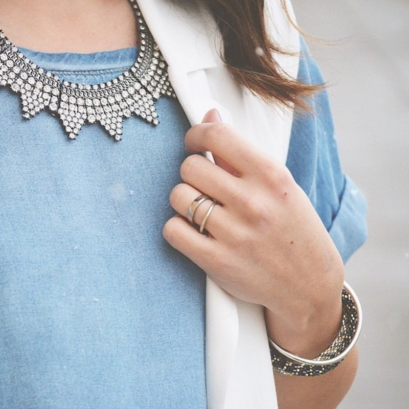 User Generated Content for Perry Street Amelie Crystal Necklace
