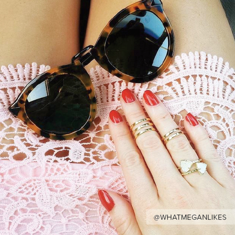 User Generated Content for Kendra Scott Ann Ring Set in Viva