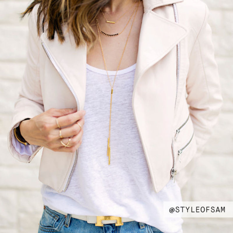 User Generated Content for Gorjana Mave Lariat Necklace