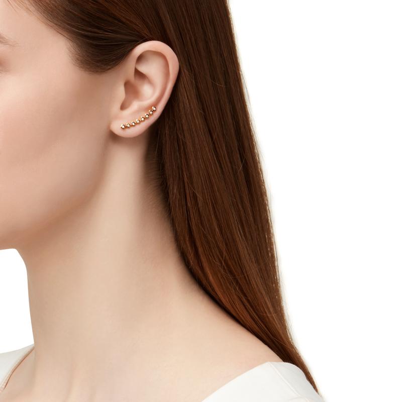 Model Content for Gorjana Ryder Shimmer Ear Climbers