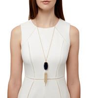 Model Content for Kendra Scott Rayne Necklace in Black