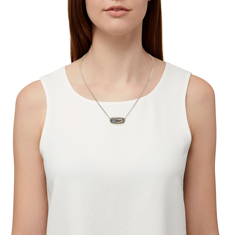 Model Content for Kendra Scott Annika Necklace in Abalone