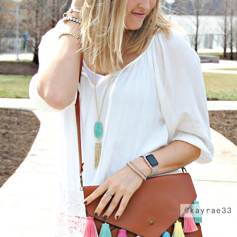 User Generated Content for Kendra Scott Rayne Necklace in Amazonite
