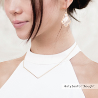 User Generated Content for Kendra Scott Alex Earrings in Peach Illusion