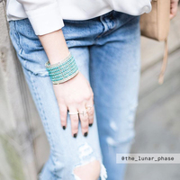 User Generated Content for Nakamol Beaded Turquoise Cuff