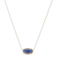 Model Content for Kendra Scott Elisa Necklace in Lapis