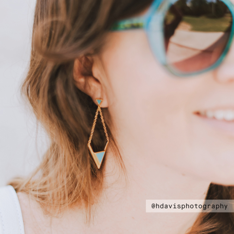 User Generated Content for Gorjana Carmen Drop Earrings