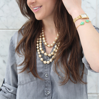 User Generated Content for Perry Street Madison Pearl Necklace