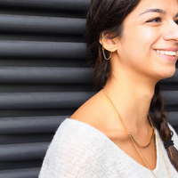 User Generated Content for Jenny Bird Slant Ear Cuff in Gold
