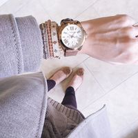 User Generated Content for Nakamol Luminous Five Times Wrap Bracelet in Cream Crystal