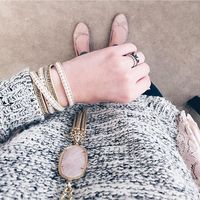 User Generated Content for Nakamol Cream, Gold & Tan Wrap Bracelet