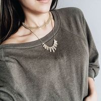 User Generated Content for SLATE Solar Necklace
