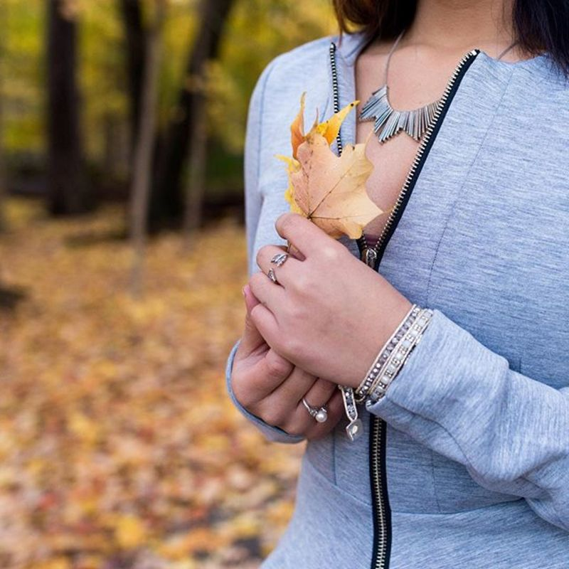 User Generated Content for SLATE Beyond the Horizon Necklace
