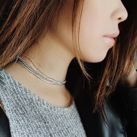 User Generated Content for SLATE Twisted Chain Choker