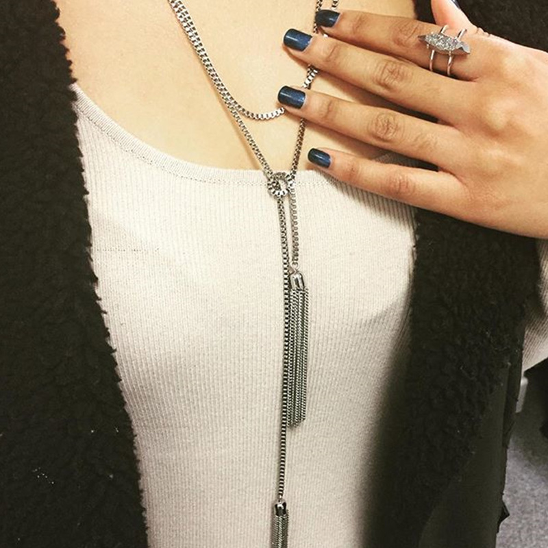 User Generated Content for SLATE Aly Lariat Necklace