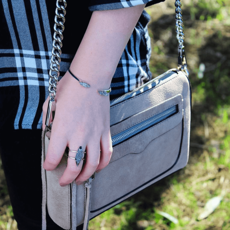 User Generated Content for Kendra Scott Bianca Bracelet in Silver and Platinum Drusy