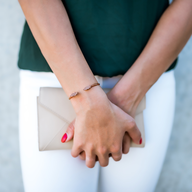 User Generated Content for Kendra Scott Bianca Bracelet in Rose Gold Drusy