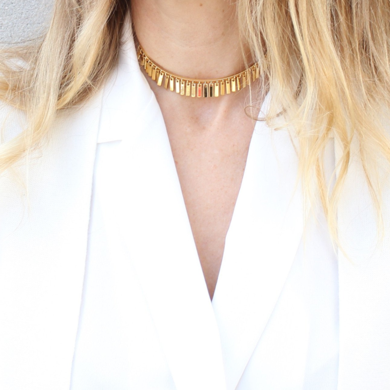 User Generated Content for Jenny Bird Raya Choker in Gold
